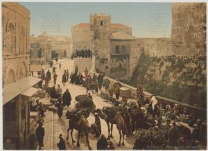 Jérusalem. Le bazar ; Bildmaterial